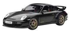 F/S AUTOart PORSCHE 911(997) GT2 RS BLACK 77962 1/18 Scale Model Car from Japan #AUTOart #PORSCHE