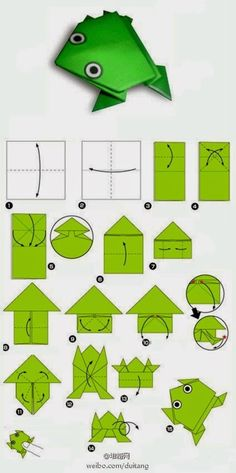 How to get children folding EASY ORIGAMI TULIPS. A great starting origami with only a few steps. Origami is a … Design Origami, Instruções Origami, Origami And Kirigami, Useful Origami, Paper Crafts Origami, Paper Crafting, Origami Ideas, Simple Origami, Best Origami
