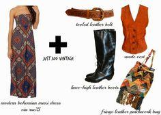 miskabelle vintage Vintage Meets Modern Boho Style feat. rue21