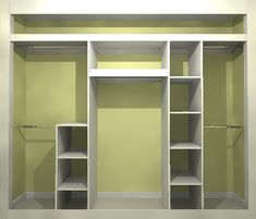 Wardrobe interior storage