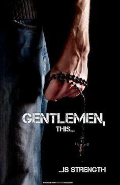 Gentlemen, this is strength!