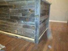 Wood Walls, Barn Wood, Shelves, Home Decor, Wood Wall, Shelving, Decoration Home, Room Decor, Tree Wall