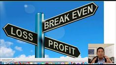 How to get to calculate your break even point for your online business