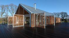 Referencia imagen 62. Viviendas en climas templados con muros cortina que facilitan la ventilación.