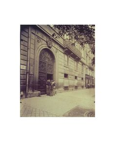 Eugène Atget, Hôtel Pourtalès 7 Rue Tronchet (8e)
