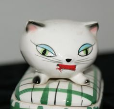 Holt Howard Cozy Kitten    Tape Measure and by PrettyfulTreasures, etsy