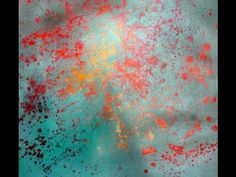 Acrylic painting / spring impression - Acrylmalerei / einfache Frühlingsimpression - YouTube