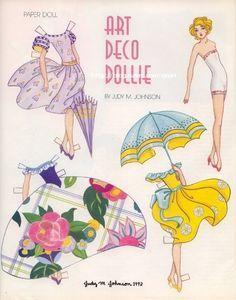 Judy Johnson Paper Dolls on Pinterest | Paper Dolls, Vintage Paper ...