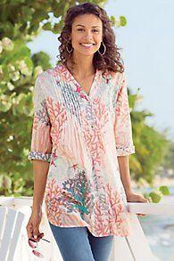 58e154e93b Malha Reef Shirt   Cami Chicos Fashion
