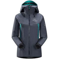 Arc'teryx Beta LT Womens Shell Ski Jacket, Cherrywine
