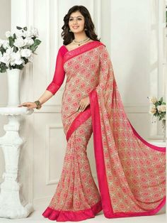d49dba45e0 48 Best Casual Saree images in 2017 | Casual saree, Designer sarees ...
