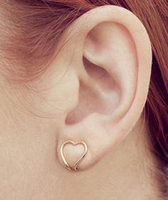 Just a few months old, COOPS LONDON gives nonpierced girls an opportunity to wear earrings without having to suffer with a painful, heavy, hinged-clip clasp.   And, like any proper jewelry brand, it has a little somethin'-somethin' special for this Valentine's Day — a limited-edition, heart-shaped pair in rose gold. Find them online at COOPSLONDON.com or at Darkroom London.