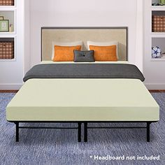 Best Price Mattress - 6 Inch Memory Foam Mattress and 14 Inch Premium Steel Bed Frame/Platform Bed Set, Full *** Find out more about the great product at the image link.