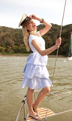 Shabbyapple.com Seven Seas in Seersucker. I'm in love with this dress (metaphorically speaking.)