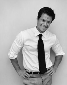 Oh Marky Mark. Your fly is open