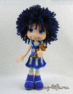 Blueberry the doll amigurumi