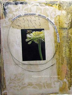 interesting using a real photo, not sure if I like it but ... maybe ⌼ Artistic Assemblages ⌼ Mixed Media & Collage Art - by dj pettitt, via Flickr