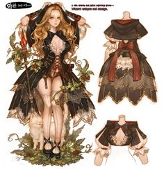 Tree of Savior character design