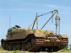 How did the Germans recover their tanks in WW2? - Quora