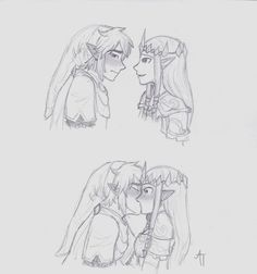 Just Incase. . . by LOZ-Elisrilianfan on DeviantArt ~ Impa's probably watching, AND BECAUSE SOMETHING LIKE THIS NEEDED TO HAPPEN IN THE GAME *RAGE*