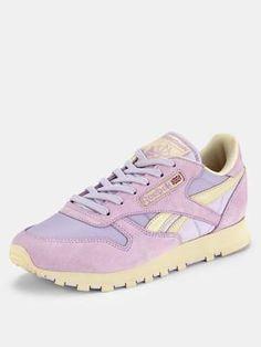Lilac / reebok classic