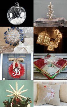 christmas deco by badaradio on Etsy--Pinned with TreasuryPin.com