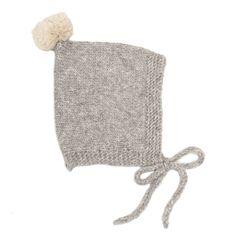 Kids Petit Kolibri New Borns Baby Alpaca Vintage Pompom Hat - Grey/Beige on Garmentory Gray Label, Baby Alpaca, Alpaca Wool, Shops, Grey And Beige, Baby Warmer, Pom Pom Hat, Organic Baby, Kind Mode