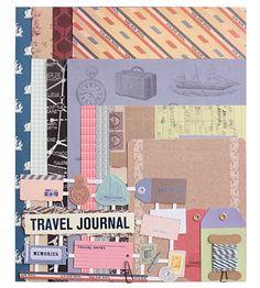 Набор бумаги для скрапбукинга Paper works (разные дизайны) / Travel