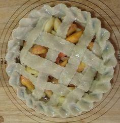 HOMEMADE Peach pie... My first ever.