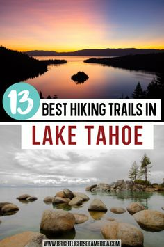 Hikers will want to try every trail on this list of 13 best hikes in Lake Tahoe. Hiking Lake Tahoe | Lake Tahoe Hikes | Tahoe Rim Trail | Cave Rock Tahoe | South Lake Tahoe Hikes | North Lake Tahoe Hikes | easy hikes Lake Tahoe | Best hikes in Lake Tahoe South Lake Tahoe Hikes, Lake Tahoe Hiking, South Tahoe, Lake Tahoe Nevada, California Travel Guide, Best Hikes, Hiking Trails, Travel Usa, The Great Outdoors