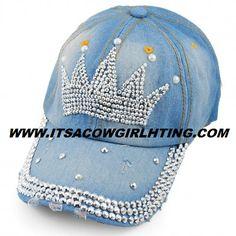 Baseball Cap With Bling Crystal Crown Gorras Decoradas bc13ebdeb95