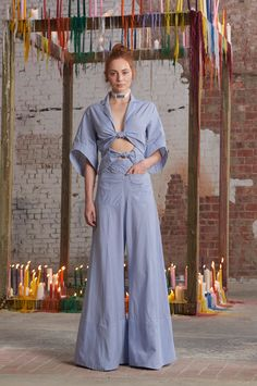 Rosie Assoulin Fall 2016 Ready-to-Wear Fashion Show  http://www.theclosetfeminist.ca/  http://www.vogue.com/fashion-shows/fall-2016-ready-to-wear/rosie-assoulin/slideshow/collection#15