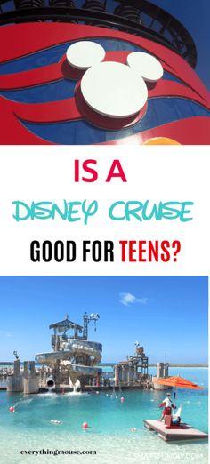 Disney Cruise For Teenagers - EverythingMouse Guide To Disney Cruise First Time, Best Cruise, Cruise Tips, Cruise Travel, Cruise Vacation, Disney Vacations, Italy Vacation, Disney Dream Cruise Ship, Disney Wonder Cruise