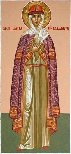 St. Juliana of Lazarevo