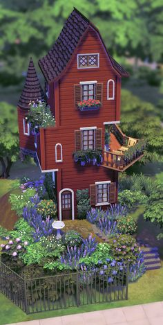 the sims 4 Sims 4 House Plans, Sims 4 House Building, Building Games, Muebles Sims 4 Cc, Sims 4 House Design, Casas The Sims 4, Sims 4 Cc Packs, Sims Four, Tower House