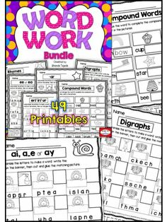 49 printables to cover 33 skills