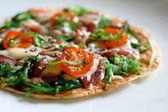 Vegetariana y todo, pero pizza es pizza, aquí y en Capurganá.