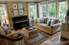 The Endearing Home- home tour featured on Worthing Court
