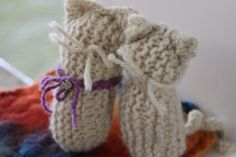 Handmade Toys From Simple Knitted Squares and Rectangles - Waldorf ...