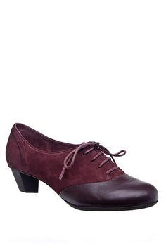 Camper - 21508 Casual Low Heel Shoe - Napier Berry