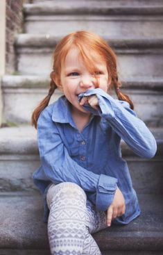 because someday my kid will look exactly like this. haha Shes so adorable!