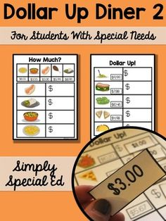 Do you teach life skills? Do you use the dollar up method? Are you teaching money to your special education students! You need this!