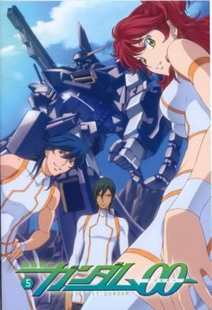 Mobile Suit Gundam 00 - The Trinity Siblings Game Character, Character Concept, Blood Orphans, Gundam Mobile Suit, Gundam 00, Mecha Anime, Pandora Hearts, Manga Covers, Sword Art Online