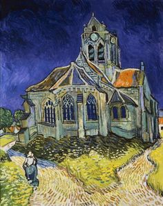 Vincent Van Gogh - The Church at Auvers - Fine Art Print
