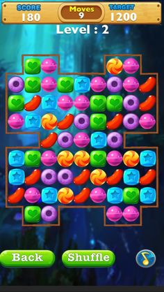 App Shopper: Candy Puzzle : Cool Match-3 Candies linking Game (Games)