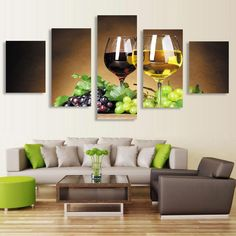 5 Piece Pictures Canvas Oil Paintings Painting On Wall Art For Living Room Hd Print Modern Cuadros Decoracion Picture No Frame