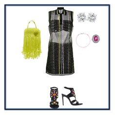 """""""Untitled #58"""" by sb187 ❤ liked on Polyvore featuring Versace, Casadei, Emilio Pucci and Redline"""