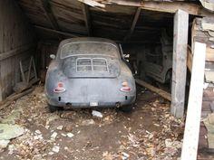 1963 Porsche 356b Barn Find #porsche