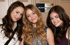 Spencer, Ali, and Aria