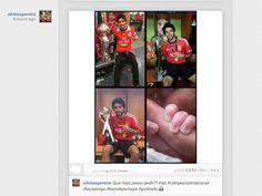 :.: Jogadores festejam tripleta nas redes sociais - Benfica - Jornal Record :.: